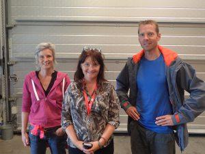 Liset Moerdijk, Gunn Strand Eliassen and Rutger Bergboer
